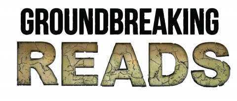 Groundbreaking Reads logo for Adult Summer Reading.