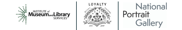 DC Reads Sponsor Logos - IMLS, Loyalty Bookstore and National Portrait Gallery
