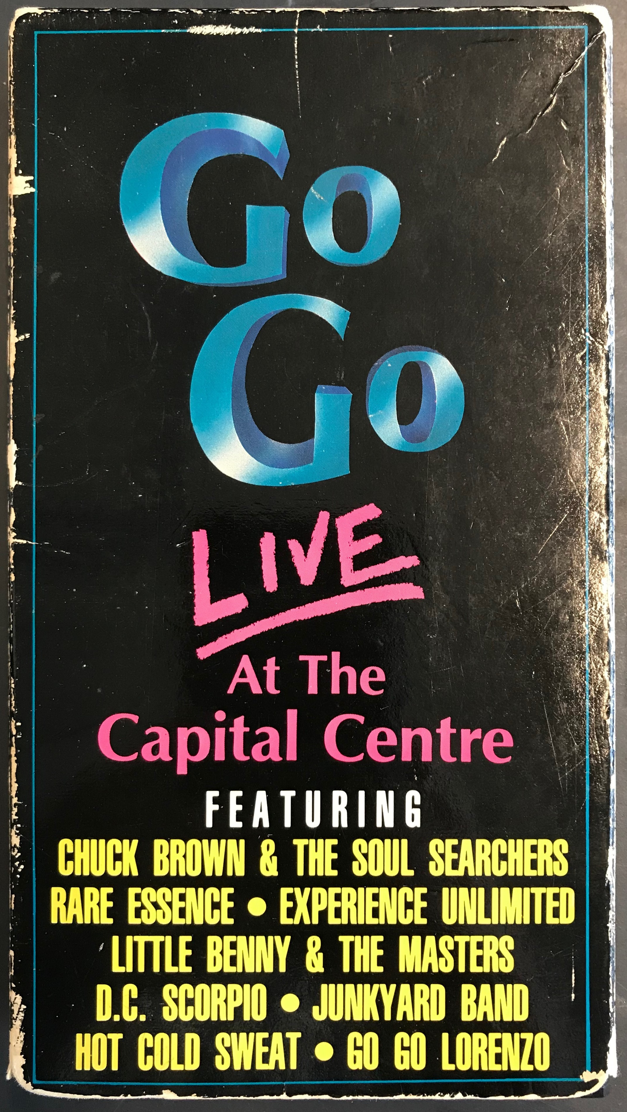 Go-Go Live VHS