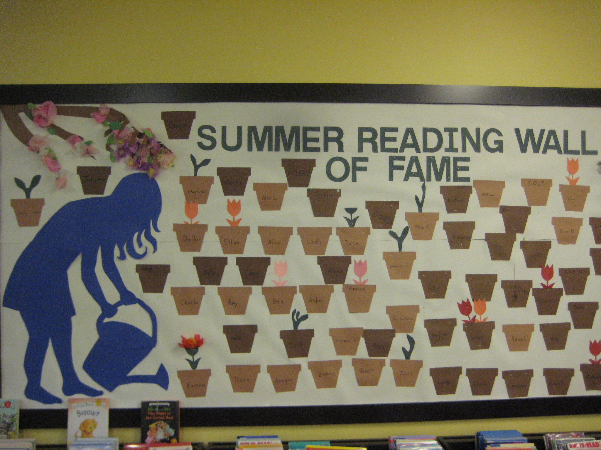 Summer Reading Wall of Fame