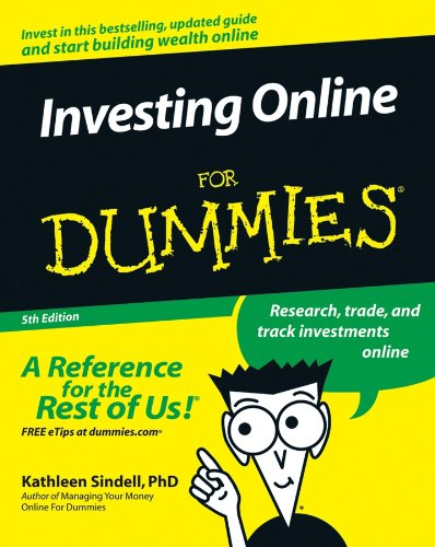 "Image of book cover for ""Online Investing for Dummies"" by Kathleen Sindell"