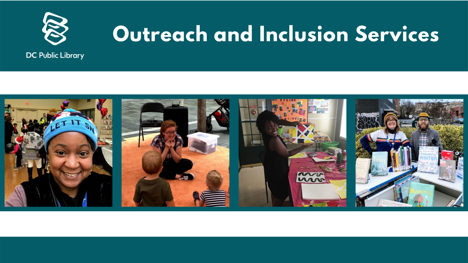 Outreach and inclusion services team members
