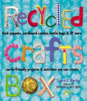 Recycled Craft Box by Lauren Martin