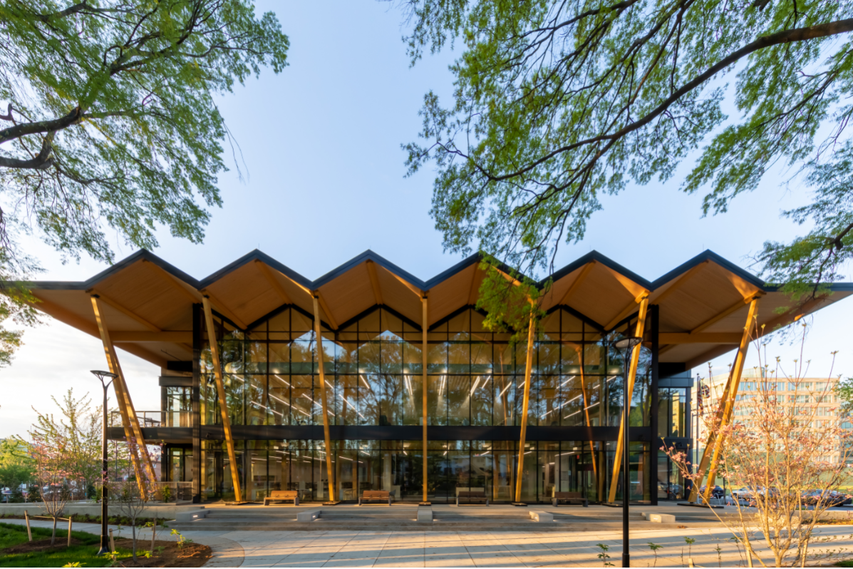 Exterior of the new Southwest Library