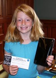 Photo of Summer Reading Prize Drawing Winner