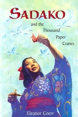 Cover image of Sadako and the thousand paper cranes
