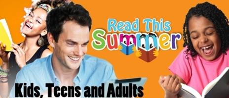 summer reading - children and adults logo