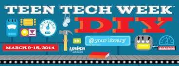 Teen Tech Week 2014 logo, created by YALSA