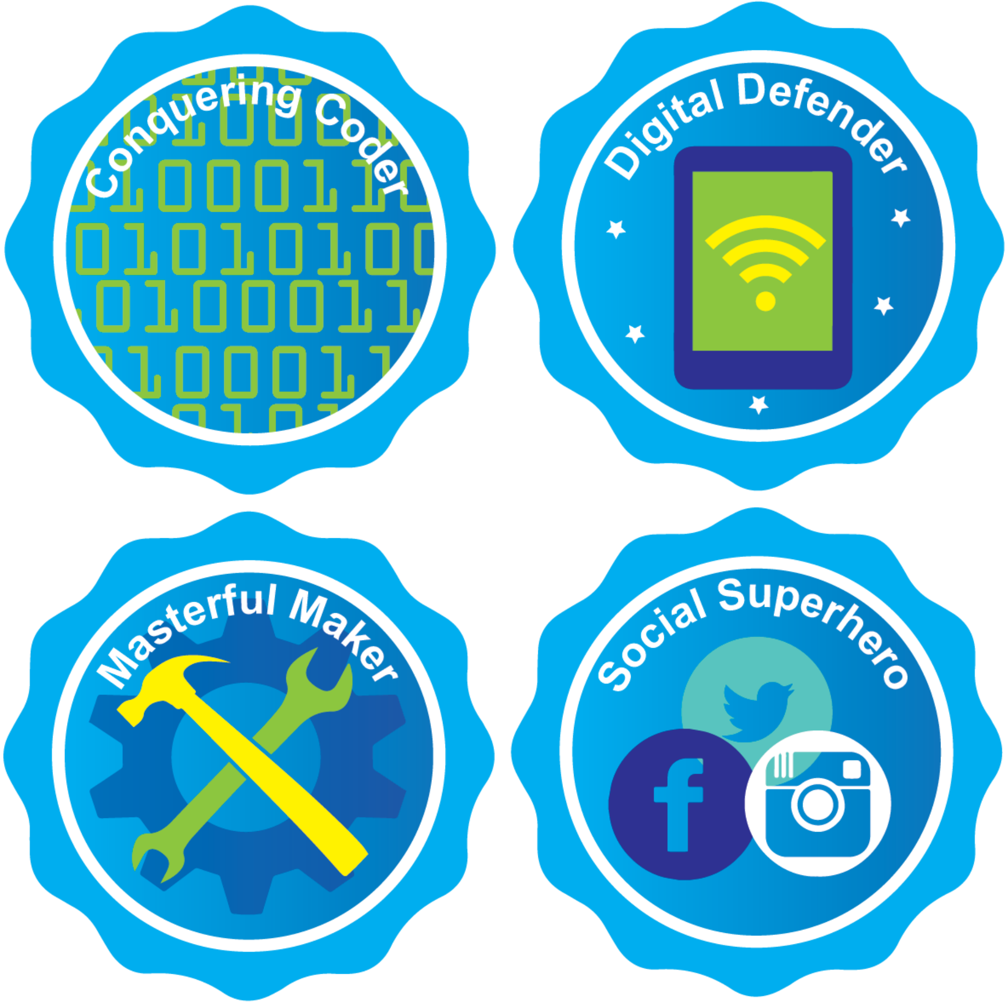 Tech Mastery badges