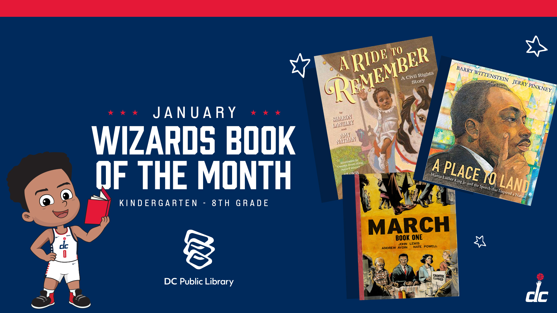 January Wizards Book of the Month