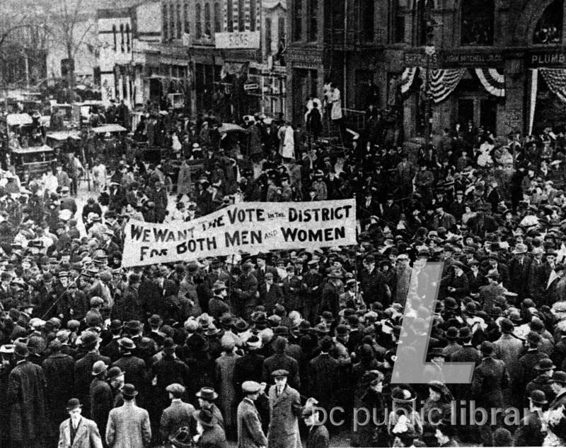 Flashback: The Fight for Women's Right to Vote