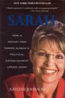 book cover for Sarah