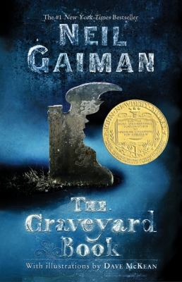"Cover art ""The Graveyard Book"""