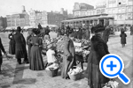 Center Market, 9th and Pennsylvania Ave., 1905, Historical Image Collection - SELECT to zoom
