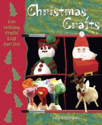 Christmas crafts book cover