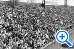 Crowd at Griffith Park for 1961 opening game April 11 1961, Star Collection, ©Washington Post - SELECT to zoom