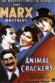 Poster from Animal Crackers