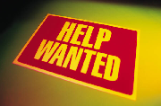 Image of Help Wanted sign