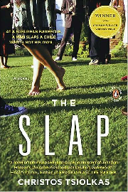 Cover image for the novel The Slap, by Christos Tsiolkas