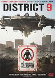 Image of District 9 DVD Cover