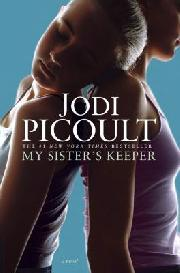 Jodi Picoult's My Sister's Keeper book cover