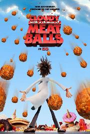 """Cloudy with a Chance of Meatballs"" poster"