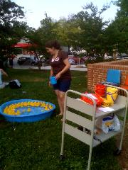 Summer Reading Kickoff Party Duck Pool