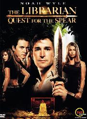 "movie poster from ""The Librarian Quest for the Spear"""