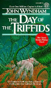 Cover image for the novel The Day of The Triffids, by John 