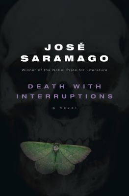 Cover image of Jose Saramago's novel Death with Interruptions