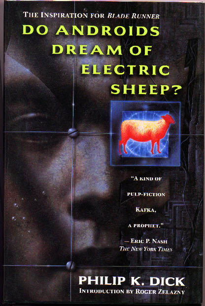 do androids dream of electric sheep cover art