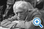 First Baseball Commissioner, Judge Kennesaw Mountain Landis, attending 1924 World Series Game at Griffith Stadium, Hugh Miller Collection, DC Community Archives - SELECT to zoom