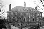 Georgetown Library North Facade, Circa 1935 - SELECT to zoom