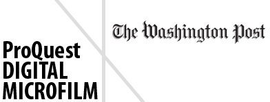 Washington Post Digital Microfilm
