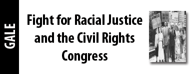 Fight For Racial Justice And The Civil Rights Congress