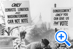 Home Rule picketers, Star Collection, © Washington Post - SELECT to zoom