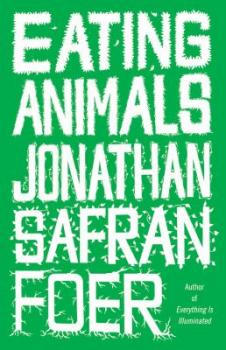 Cover image of Jonathan Safran Foer's book Eating Animals