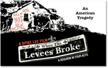 When the Levees Broke movie poster