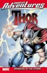 book cover of Marvel Adventures Thor comic book