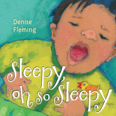 Sleepy, Oh So Sleepy book cover