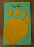 Photo of Paw Pad Craft Project
