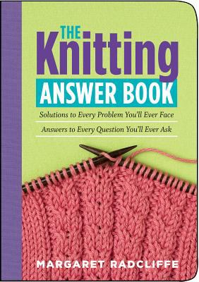 Kniting Answer Book Cover Art
