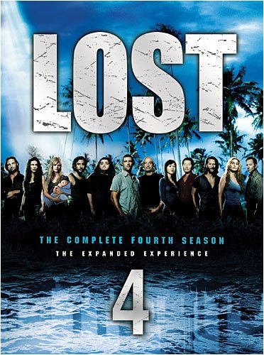image of Lost Season 4 DVD Cover art