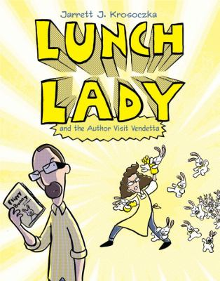 Cover of the Lunch Lady and the Author Visit Vendetta