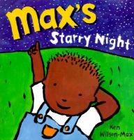 book cover and catalog link for Max's Starry Night