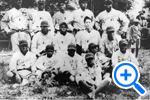 Oriental Tigers, amateur African-American team of old Southwest DC before urban renewal, 1926, Curtis Collection, DC Community Archives - SELECT to zoom