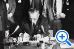 President Johnson signing 1964 Civil Rights Act, Star Collection, © Washington Post - SELECT to zoom.