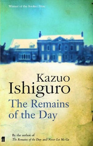 The Remains of the Day book cover