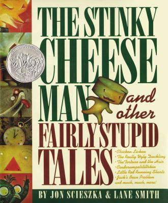 Cover of The Stinky Cheese Man