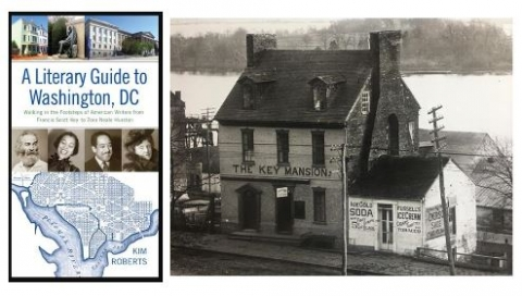 Book cover with M Street home of Francis Scott Key